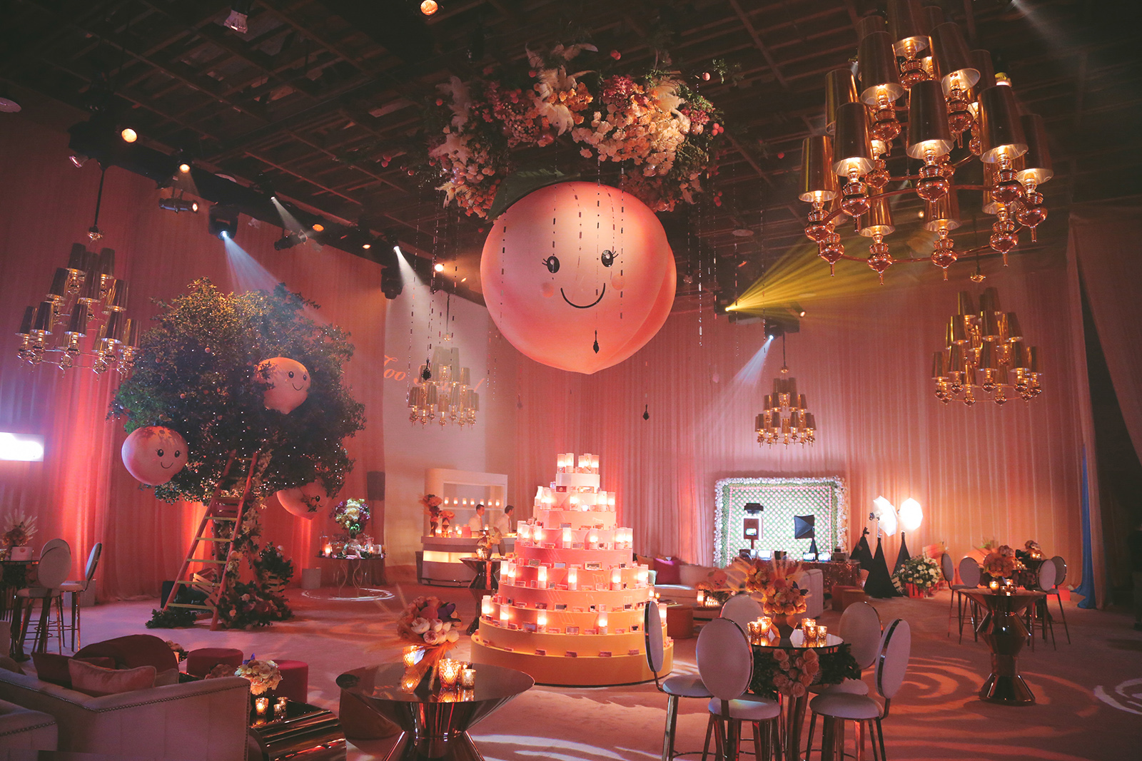 Too Faced Sweet Peach Corporate Event
