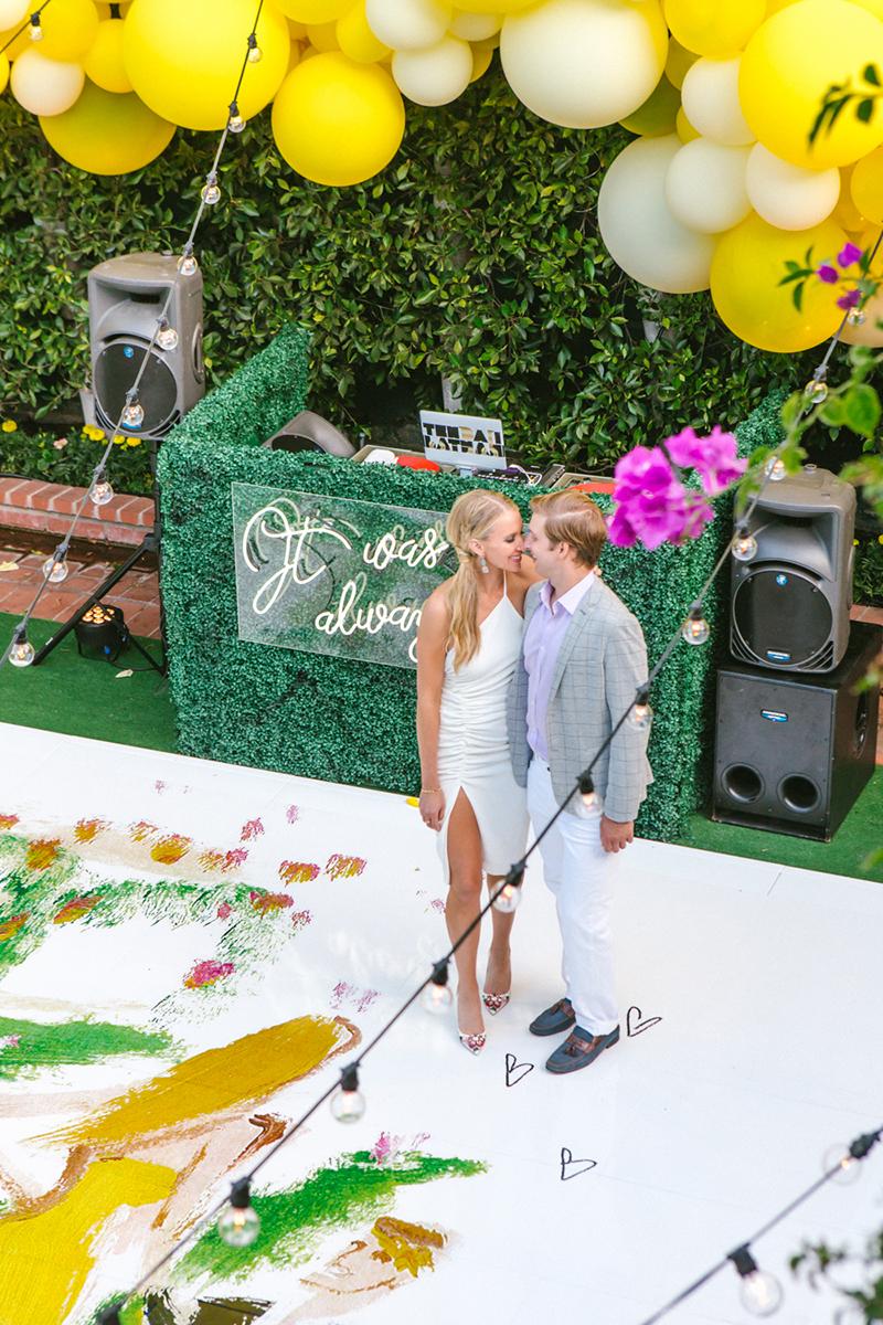 custom wedding dance floor