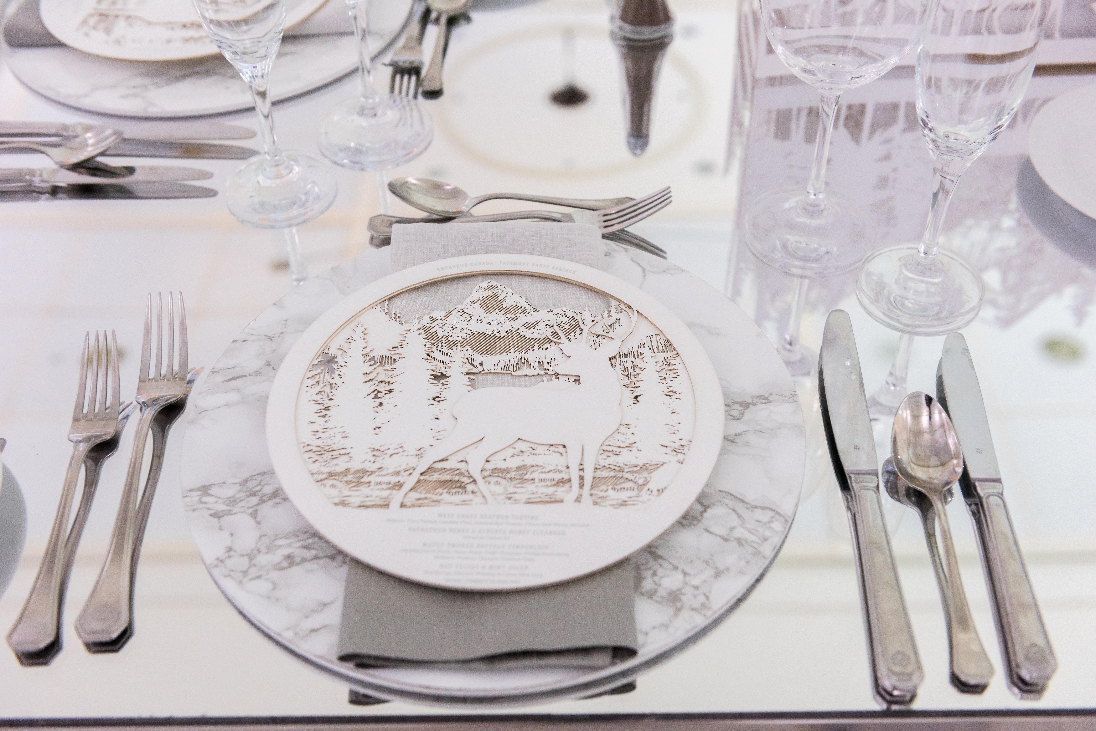 winter wonderland wedding details