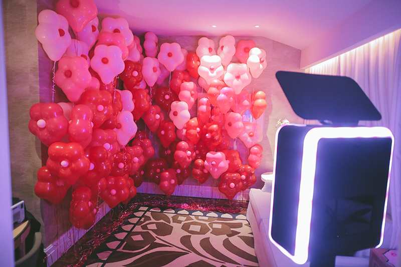 wedding balloon backdrops