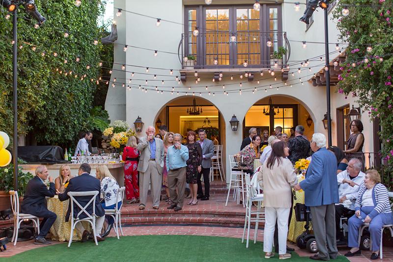 engagement party in LA