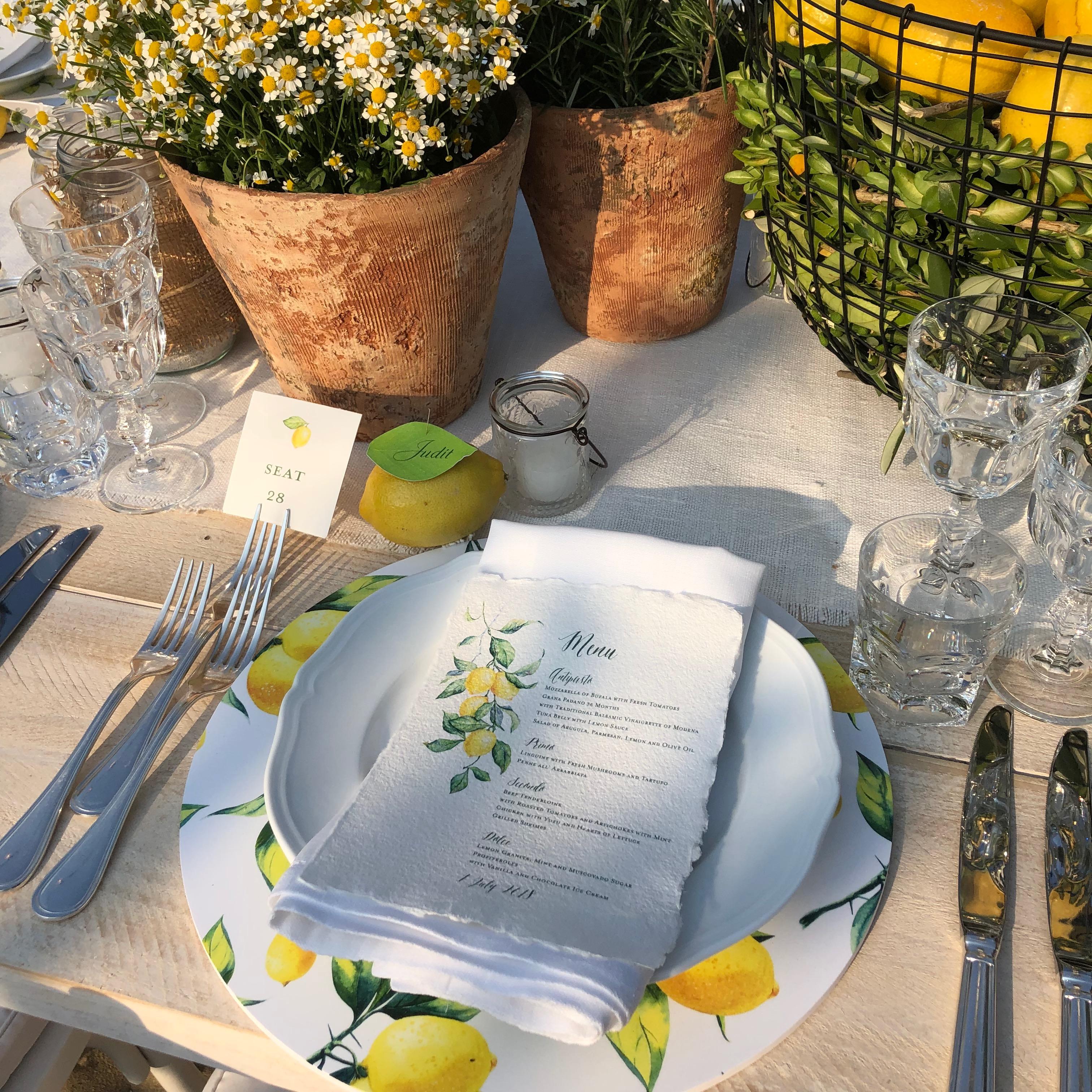 lemon-themed-party
