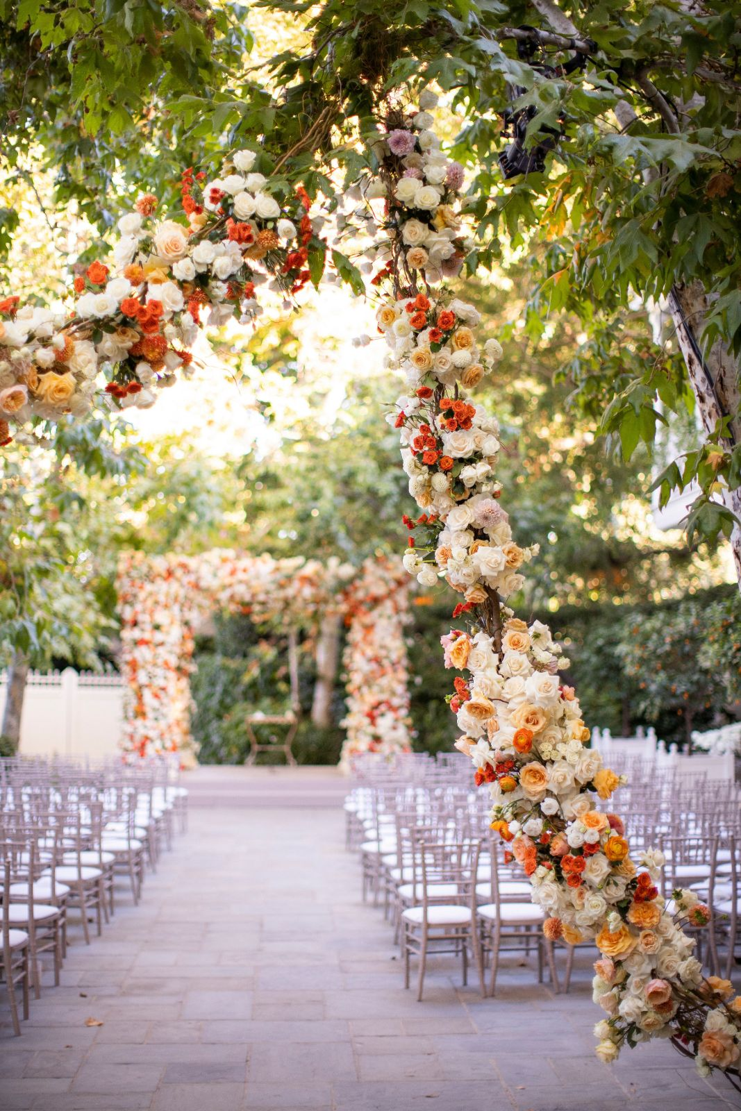 Fall Wedding Ceremony Decor Ideas Mindy Weiss