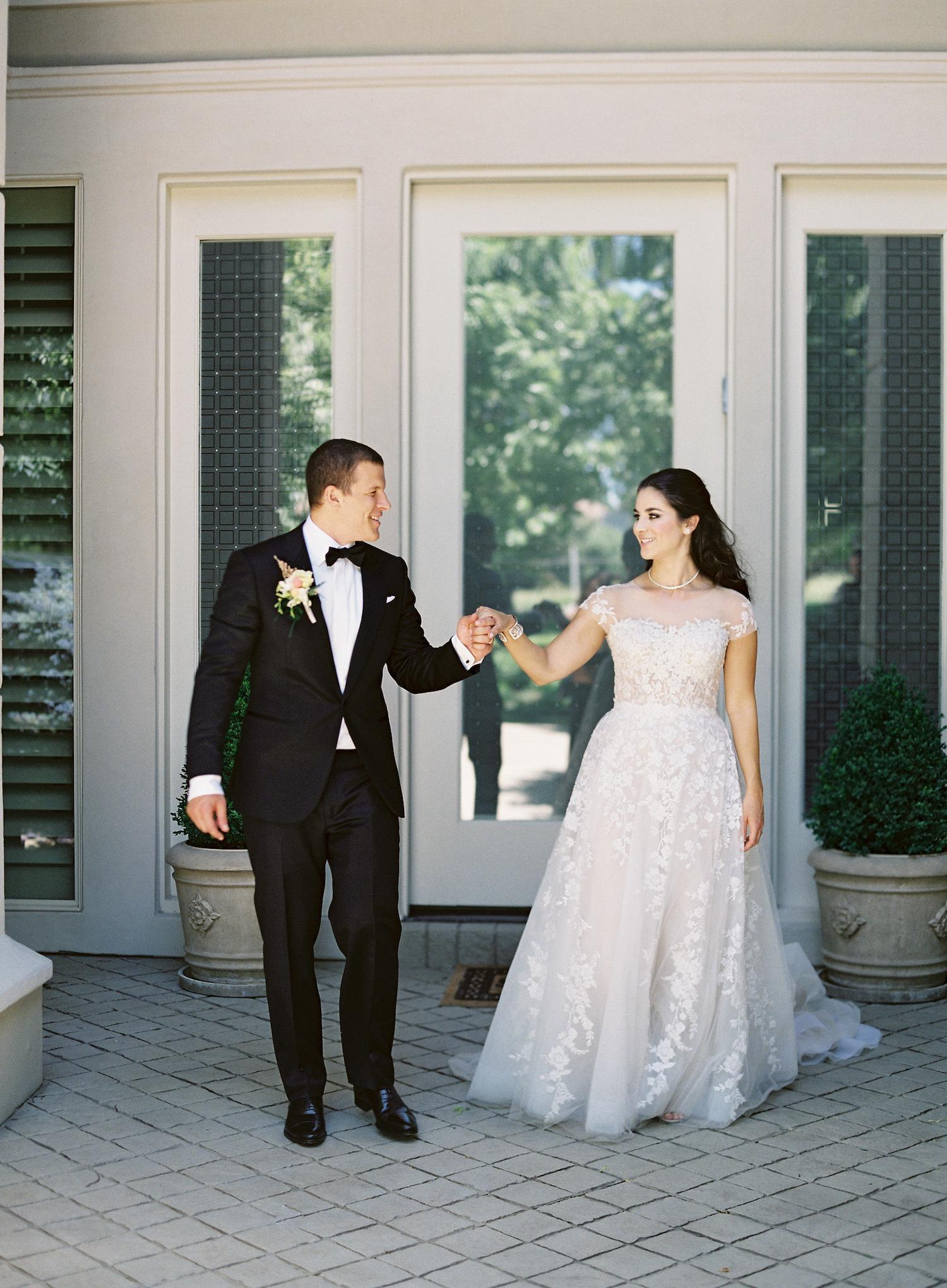 black-tie-bride-and-groom