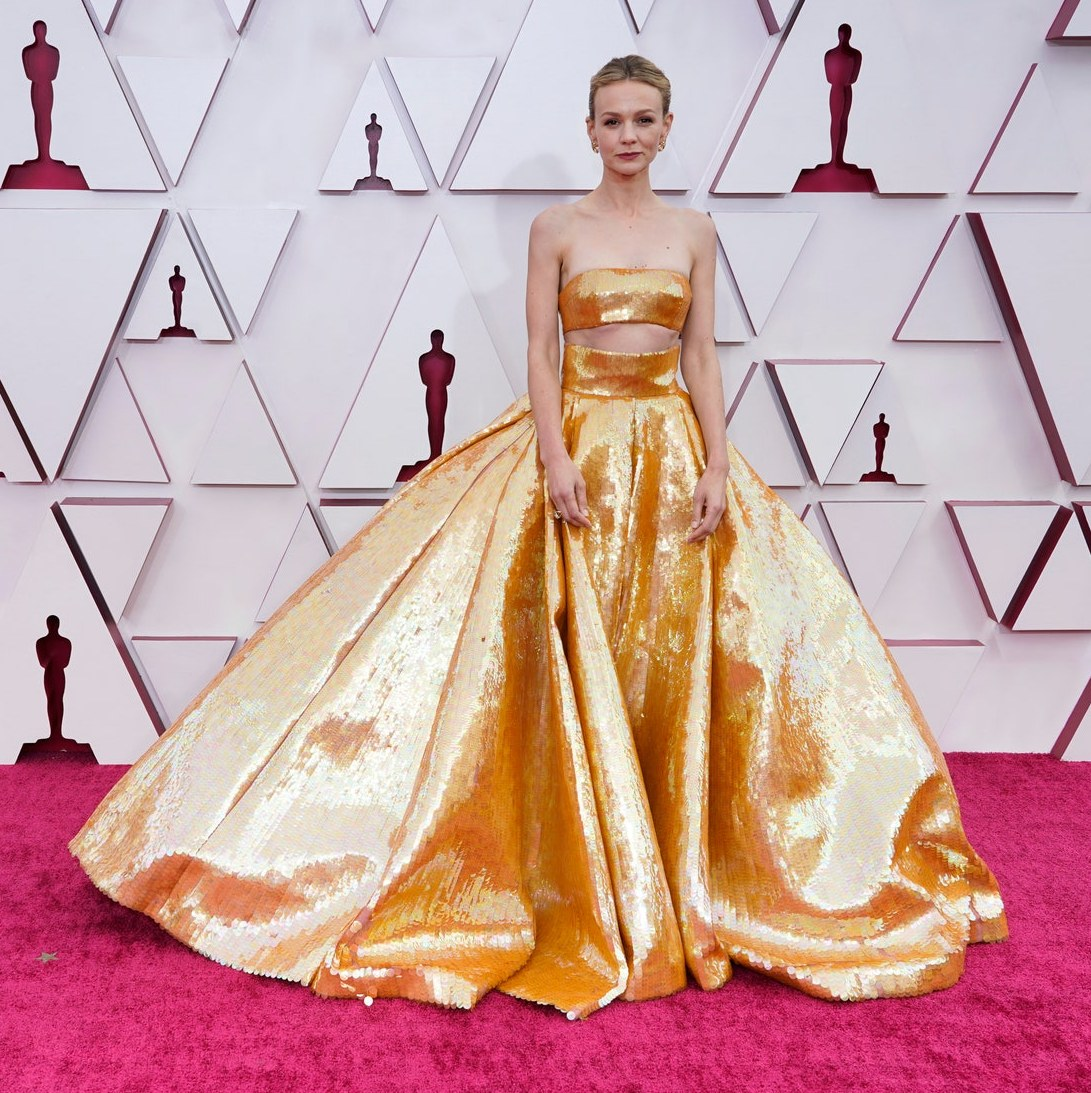 Wedding-Worthy Looks from the 2021 Oscars Red Carpet